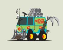 mad max_ mistery Machine